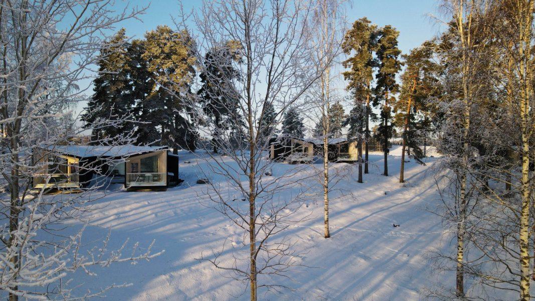 Uni Villat talvella