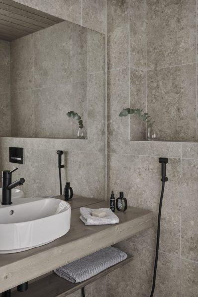 UniVillan kylpyhuone.