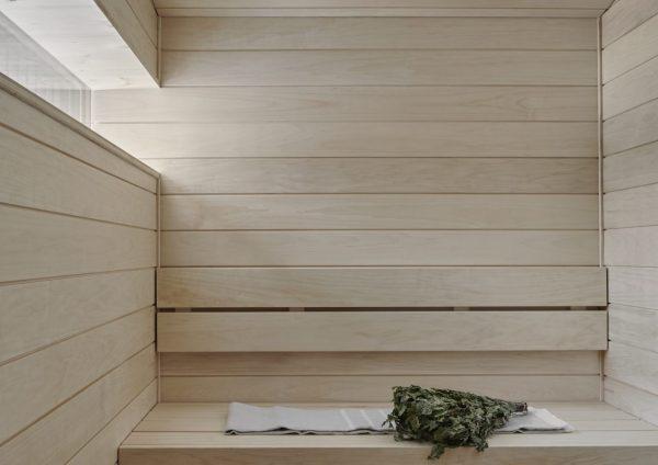 UniVillan saunatilat.